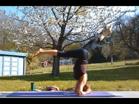cours de hatha yoga n°3  postures avancées  youtube