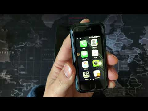 The world's smallest smartphone SOYES 7s PK iPhone 7