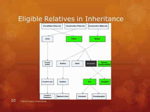 Islamic inheritance chart also youtube rh