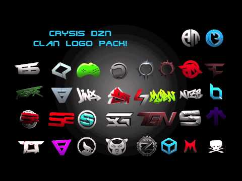 3d Clan Logo Pack Youtube