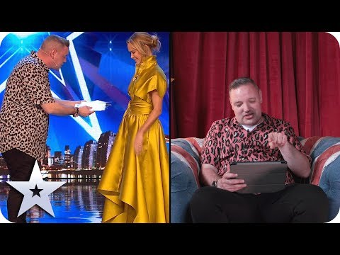 Graeme Mathews reacts to his first audition!   Acts React   Britain's Got Talent