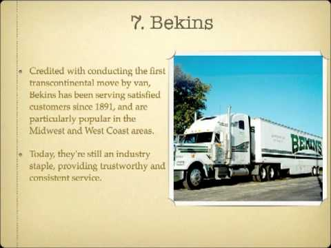 Top 10 National Moving Companies