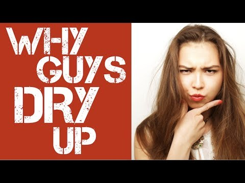 HOW TO NEVER RUN OUT OF THINGS TO SAY: Top 8 Reasons WHY GUYS DRY UP When They're Talking To Girls!
