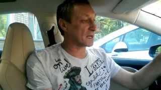 Видео газеты ТЕКСТ. Владелец электрокара Tesla в Перми(Один из двух