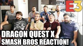 REACTION: DRAGON QUEST X SMASH BROS. - Nintendo Direct E3 2019