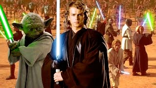 Why Most Jedi Lightsabers were Blue or Green by The Clone Wars