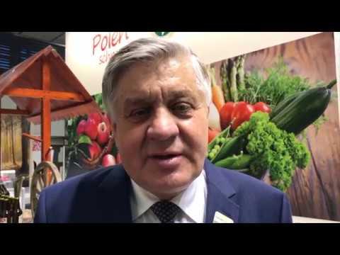 Minister Jurgiel o promocji polskiej żywności na targach Grune Woche 2018
