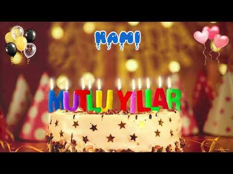 İyi ki doğdun HAMİ doğum günün kutlu olsun, Mutlu Yıllar Hami, İsme Özel Doğum G