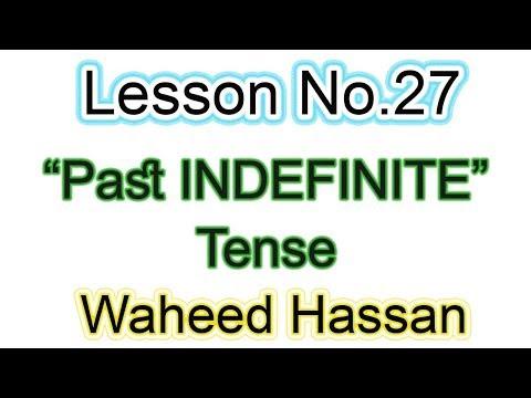 Past continuous tense definition in urdu