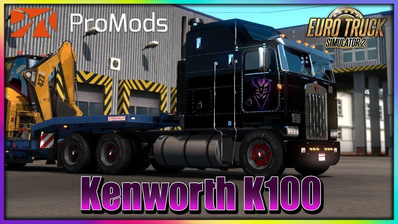 ETS2 1 35 | ProMods 2 41 | Kenworth K100 | Verona - Verona | Euro Truck  Simulator 2 | IXXMADE