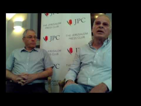 """A new lecture of JPC :""""The Current Israeli - Palestinian Situation"""" with Ehud Yaari"""