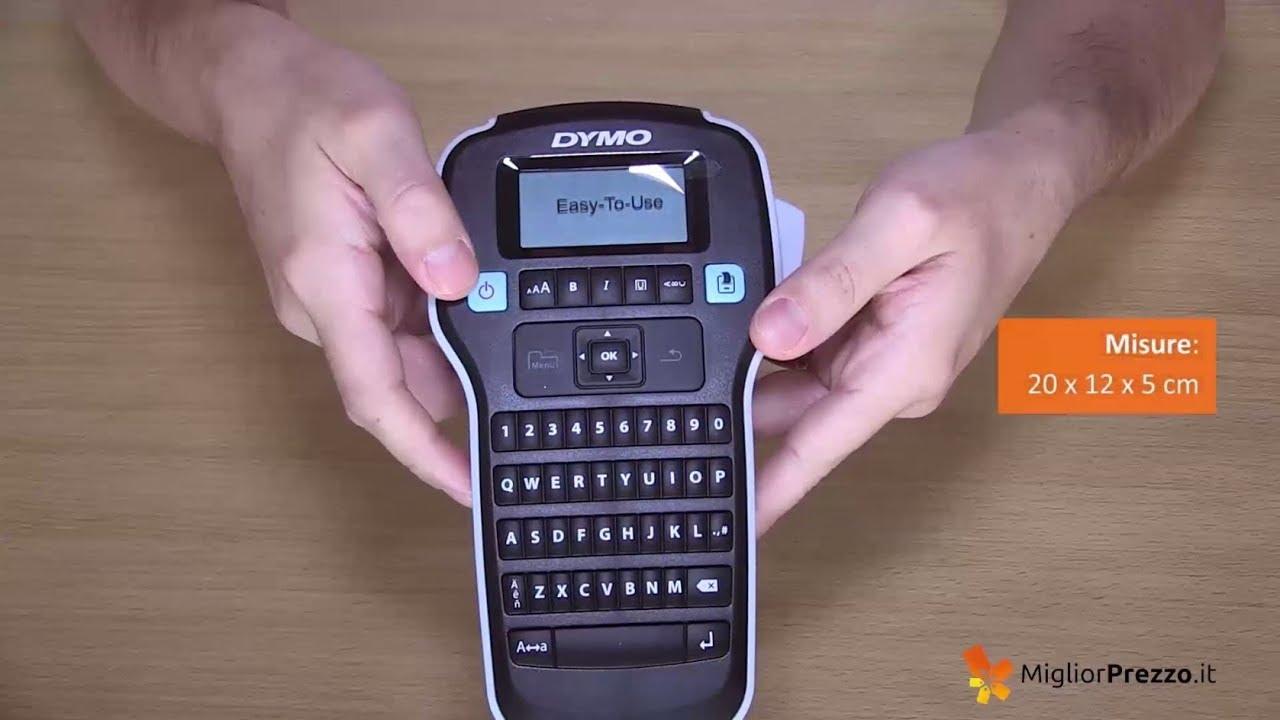 Etichettatrice DYMO LabelManager 160 - Video recensione di MigliorPrezzo it