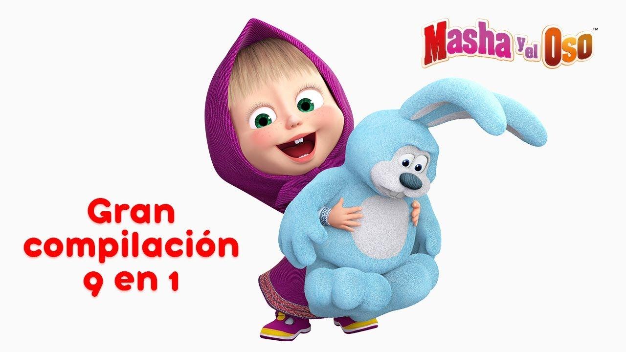 Masha Y El Oso Una Gran Colección De Dibujos Animados Parte 3