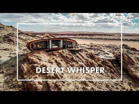 The WORLD'S MOST UNIQUE HOTEL? Insane PRIVATE DESERT VILLA 'Desert Whisper' in Namibia.