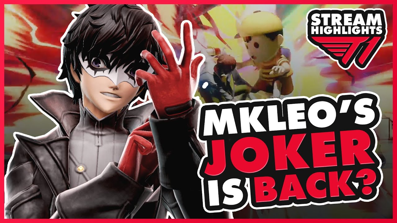 MkLeo's Joker is Back? | Smash Ultimate Montage and Tips