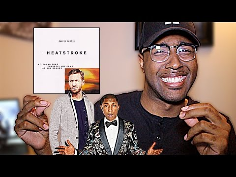Calvin Harris  Heatstroke Feat Young Thug, Pharrell & Ariana Grande REACTION
