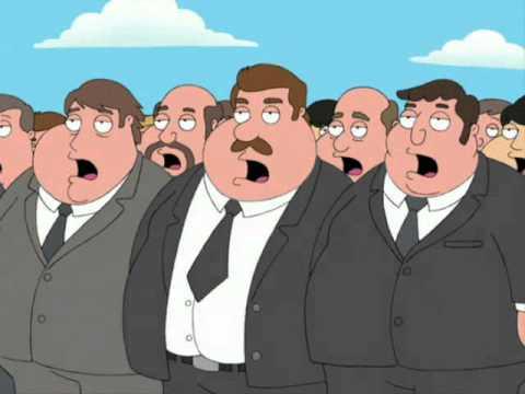 anthem for fat poeple.family guy