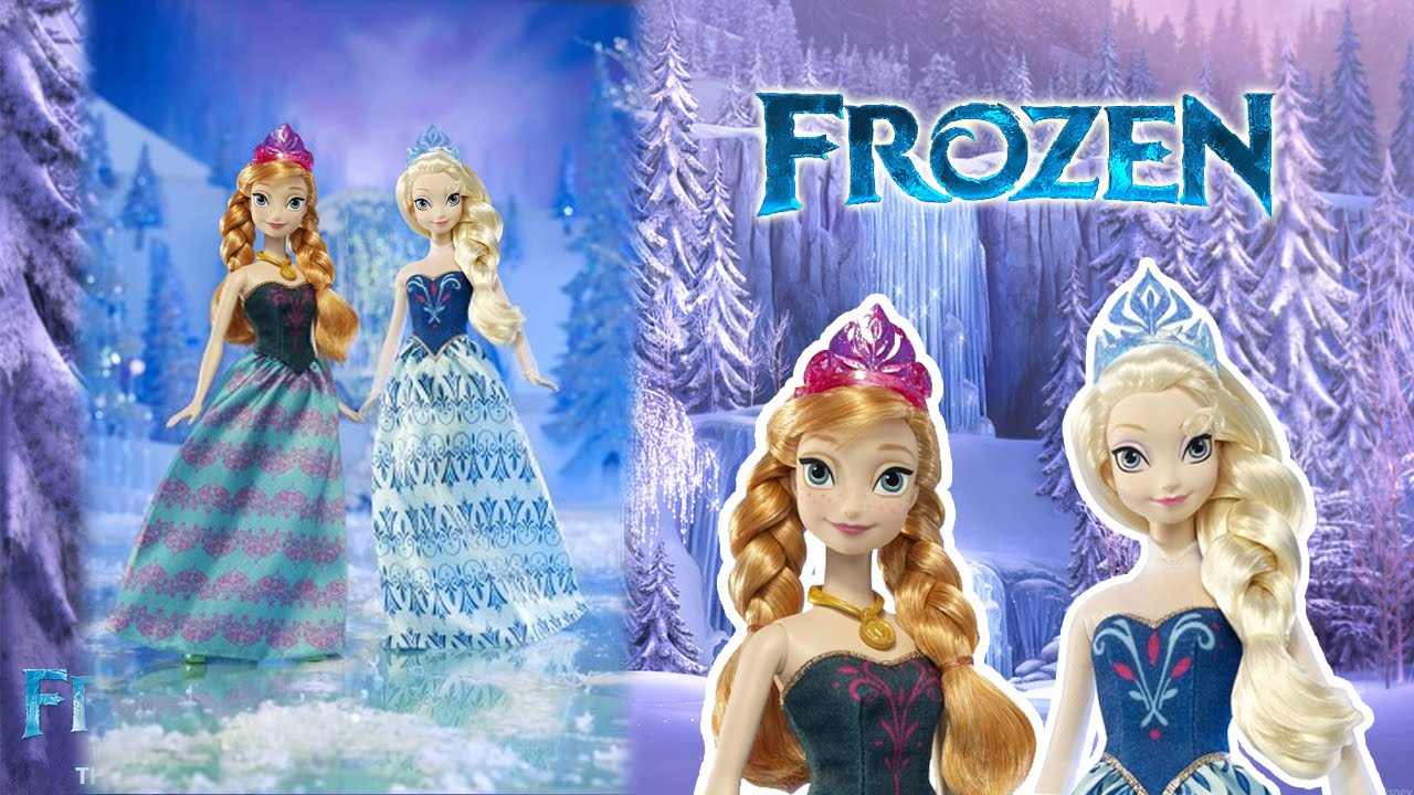 Frozen Toys Anna And Elsa Of Arendelle Dolls Target EXCLUSIVE Review Barbie Funny Videos