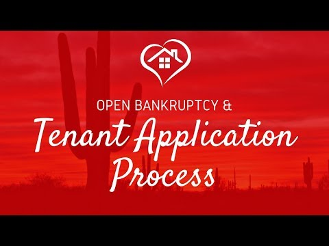 Bankruptcy and Tenant Screening  | Phoenix Landlord Tips