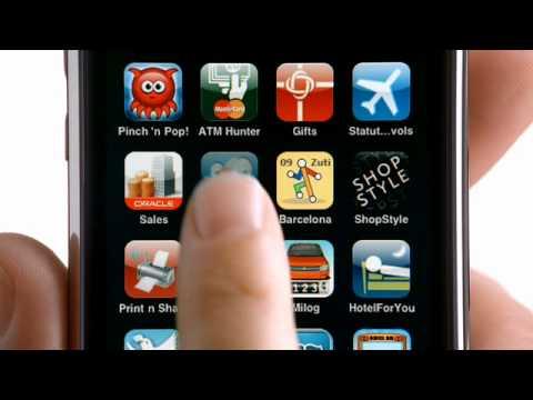 """Publicité iPhone 3GS """"Passer le temps"""""""