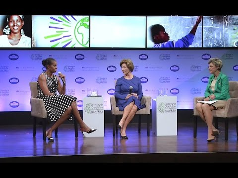 A Conversation with The First Lady and Mrs. Laura Bush