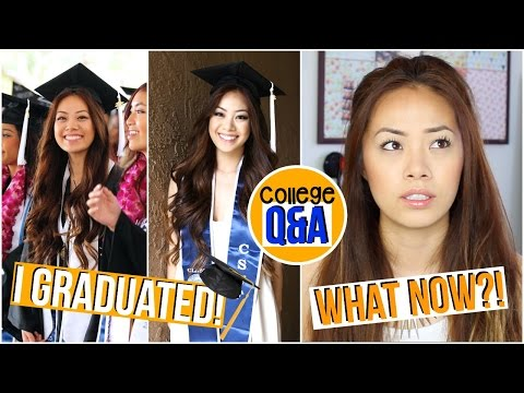I Graduated! What Now?! College Q&A ♡ Karina Lynn Kho