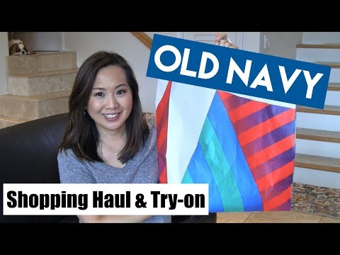 Old Navy Haul & Try-On | Pixie Pants, White Jeans & More | April 2018