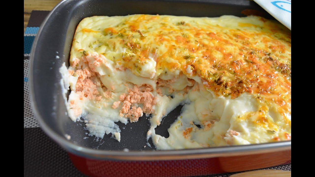Pastel de pure de patatas y salmon youtube - Pure de patatas y calabaza ...