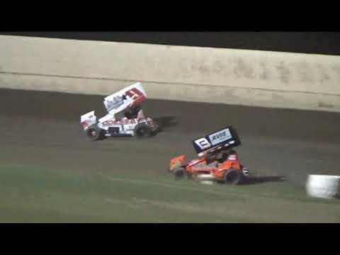 305 Sprints @34 Raceway (Brayden Gaylord) 8/24/2019