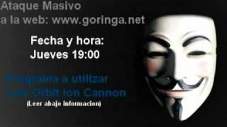 Ataque Masivo a Goringa.net - Comunidad anti pedofilia - UNITE!