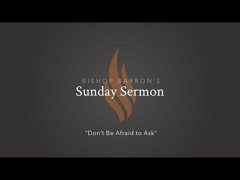 Don't Be Afraid to Ask — Bishop Barron's Sunday Sermon