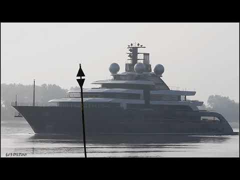 Mega Yacht Project THUNDER | Weser Höhe Brake Unterweser