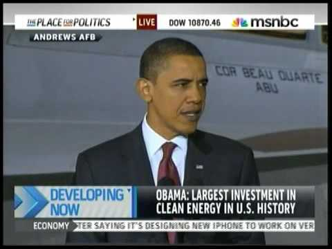 Obama Announces Offshore Drilling Part 1 of 2