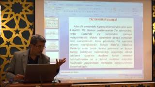 """""""Kureyş"""" Suresi Tefsiri 13.10.2015"""
