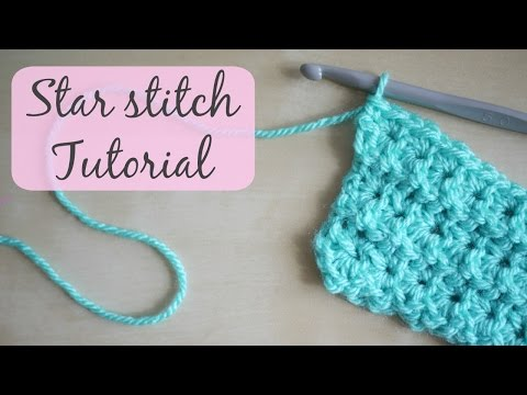 CROCHET: Star stitch tutorial Bella Coco