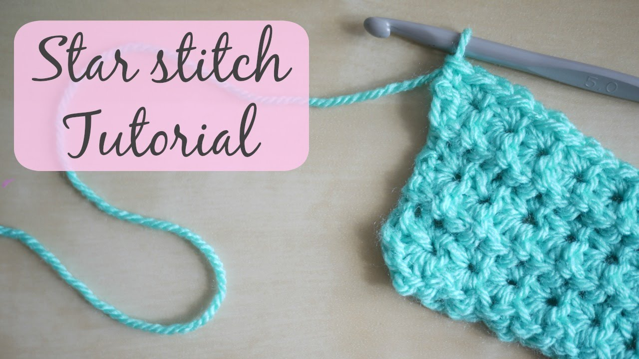 Crochet Star Stitch Tutorial Bella Coco Youtube
