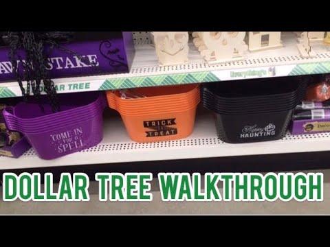 DOLLAR TREE WALKTHROUGH | 🎃 🦇  👻