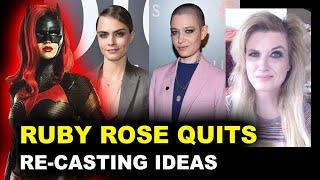 Batwoman - Ruby Rose Quits, Recast Season 2