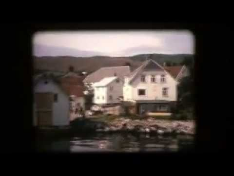 Norway in 1966-vintage shipping on the fjords