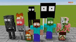 Monster School : SCHOOL FIRE DISASTERS  - Minecraft Animation