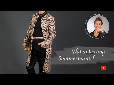 new arrival 94597 b8ddb Nähanleitung für den Sommermantel