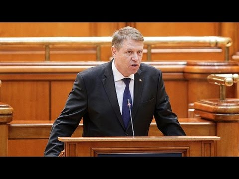 Romania's president slams government over transparency and corruption