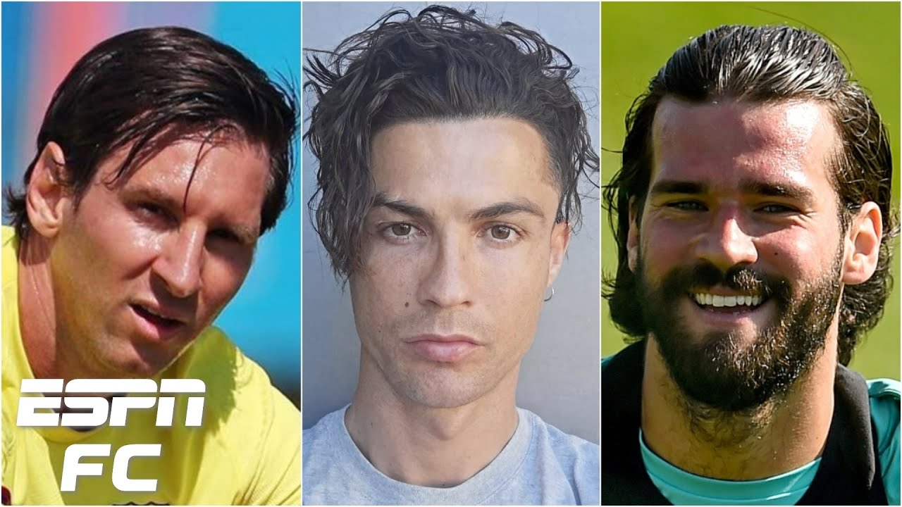 Best Quarantine Hair Contest Returns Featuring Lionel Messi Ronaldo Alisson Becker Espn Fc Youtube