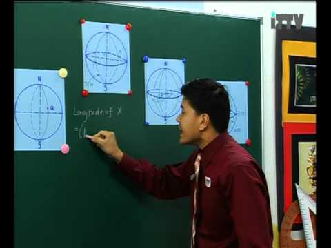 iTTV SPM Form 5 Maths Earth as a sphere L2: Understanding the great circle. Tuition/Lesson/Exam/Tips