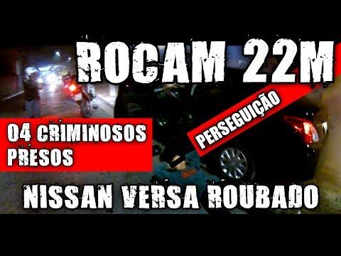 PERSEGUIÇÃO NISSAN VERSA X XT 660R ROCAM 22M POLICE