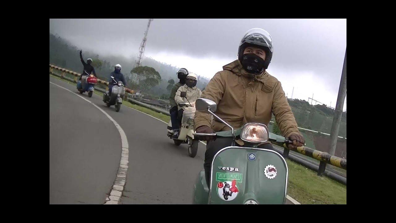 画像: touring garut vespa indonesia youtu.be