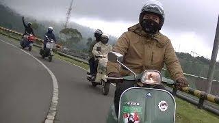 touring garut vespa indonesia