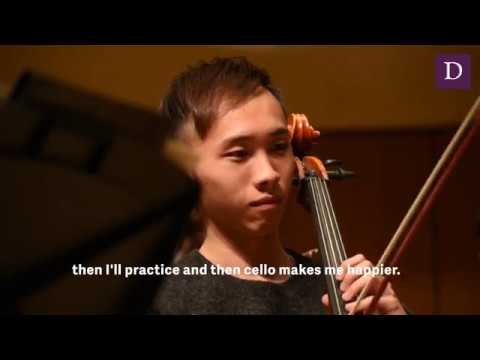 Bienen graduate student shares experience playing cello, reaction to NUSO Asia tour