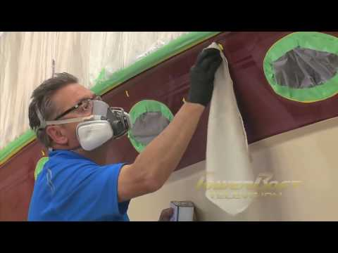 How To Paint Fibreglass - PowerBoat TV