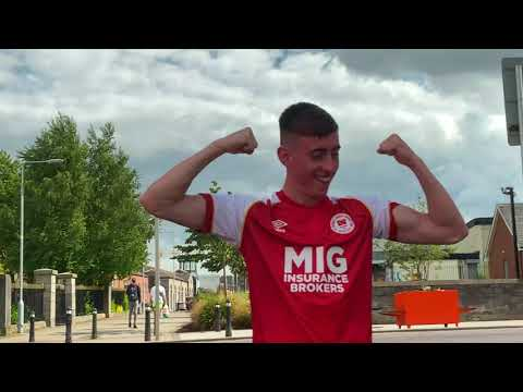BEHIND THE SCENES | McCormack, Burns, Abankwah & Murphy Signing Announcement Photoshoot
